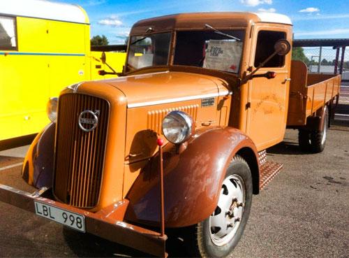 Volvo LV 82 DS, 1938 års modell